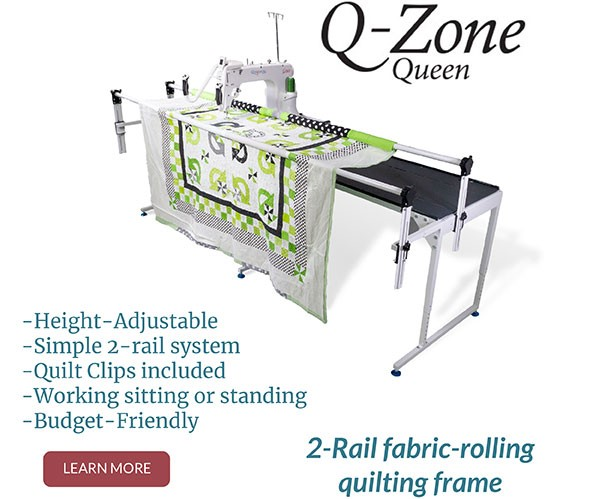 Picture of Quiltmaschine Qnique 15R Quilttisch Q-Zone-Queen