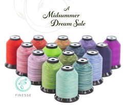 Picture of Quilting Thread Finess variegated